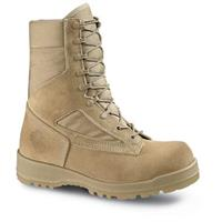 Men's Bates DuraShocks USMC Hot Weather Boots, Tan