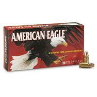 Federal, American Eagle Pistol, .357 Sig, FMJ, 125 Grain, 50 Rounds