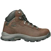 Men's Hi-Tec Altitude IV Nubuck Leather Hikers, Chocolate
