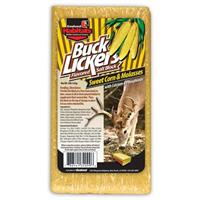 6-Pk. Sweet Corn and Molasses Buck Lickers Flavored Salt Block