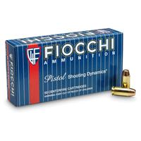 Fiocchi, .40 Smith & Wesson, 170 Grain, FMJ-TC, 500 Rounds