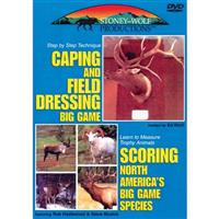 Caping and Field Dressing Big Game / Scoring Big Game Animals DVD