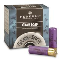 "Federal Game Load, 16 Gauge, 2 3/4"" 1 oz. Shotshells, 25 Rounds"