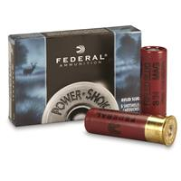 "Federal Classic, 12 Gauge, 3"" 1 1/4 oz. Slugs, 5 Rounds"