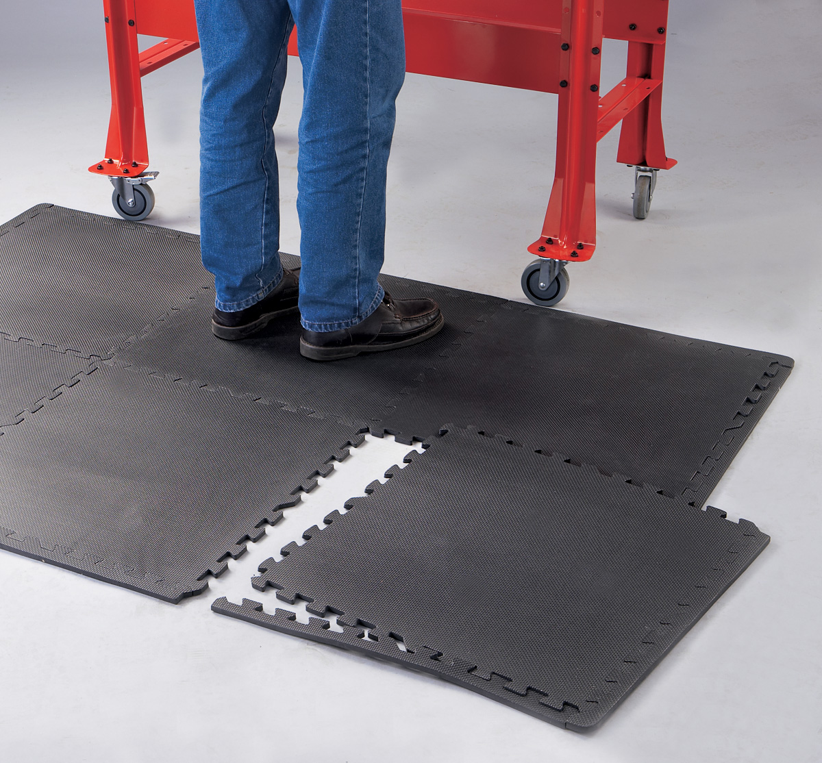 24 sq. ft. of Anti-Fatigue Work Mats