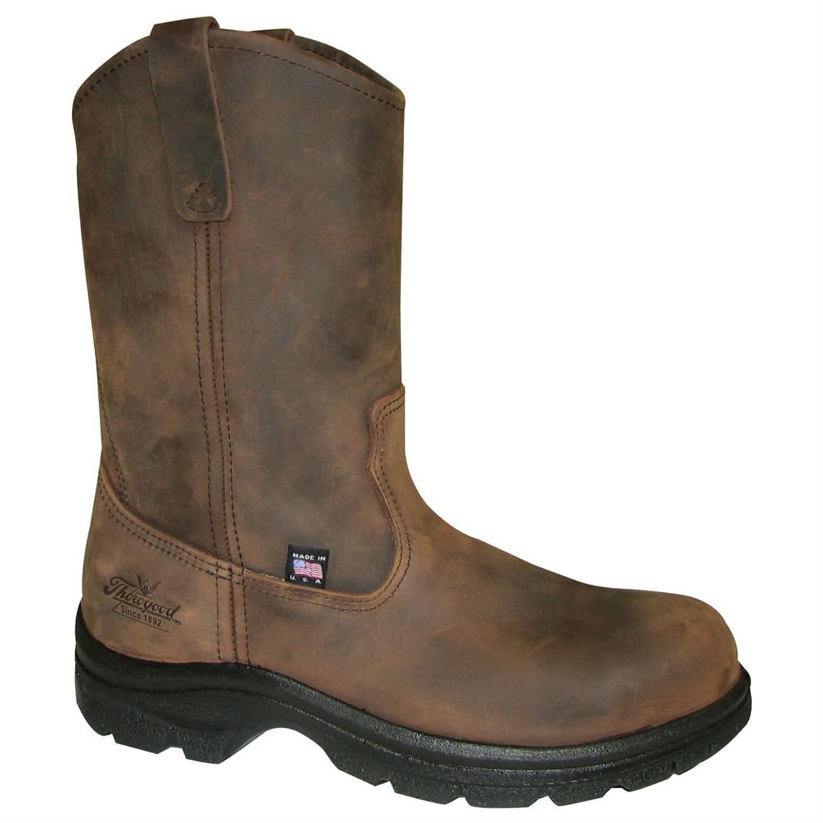 Men's Thorogood® 10 inch Steel Toe Wellingtons