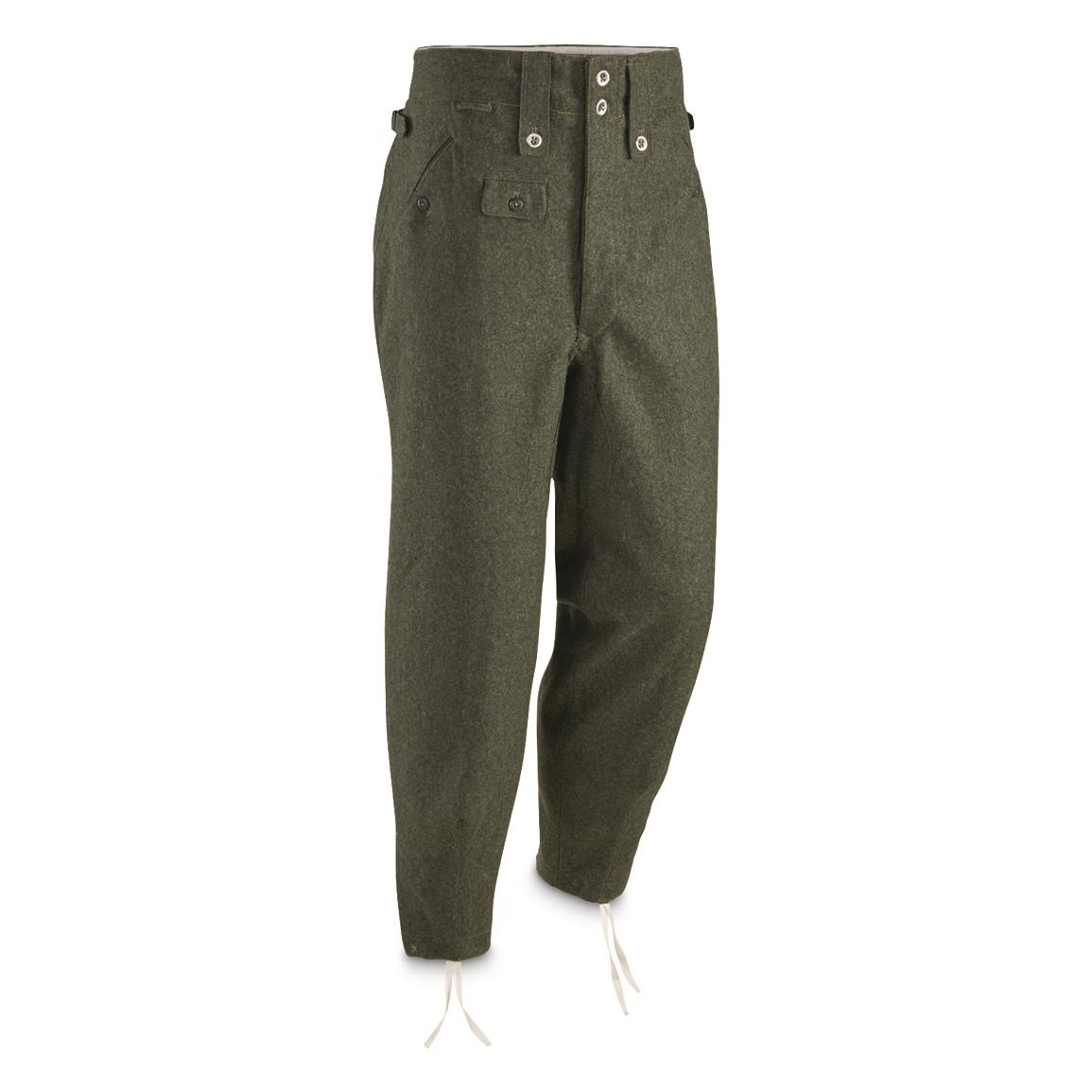Specsignal Reproduction German Military M43 Wool Pants Ne...