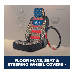 Shop Floor Mats, Seat and Steering Wheel Covers