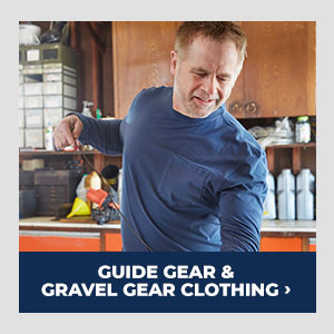 Guide Gear and Gravel Gear Clothing