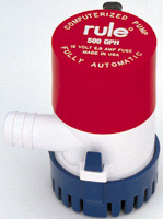Rule 500 GPH Automatic Pump