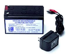 Vexilar V-120 Jel-Pack Battery with Recharger