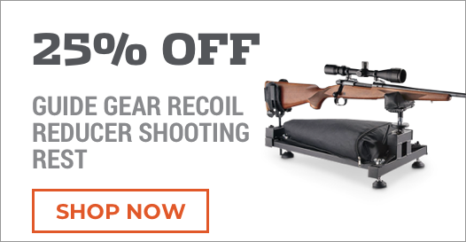 25% Off Guide Gear Recoil Reducer Shooting Res