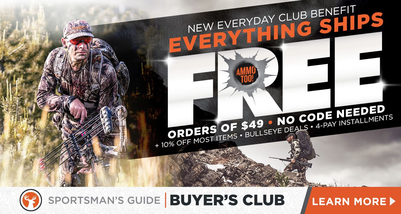 Sportsman's Guide - Outdoor and Hunting Gear, Guns, Ammo & More!