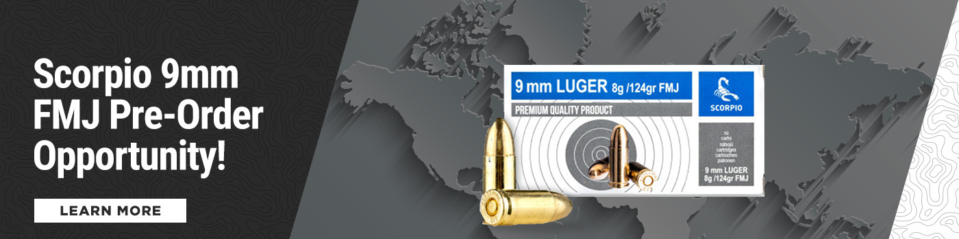 9MM Pre-Order Ammo