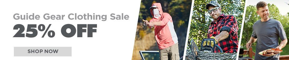 Guide Gear Clothing Save 25%