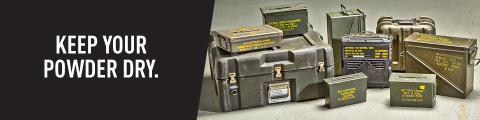 Ammo Cans & Military Storage