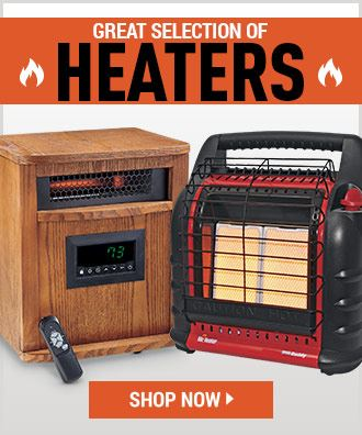 Great Selection of Heaters