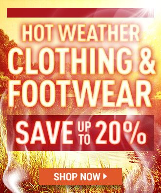 HOT WEATHER CLOTHING & FOOTWEAR