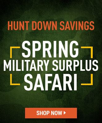 Spring Military Surplus Safari