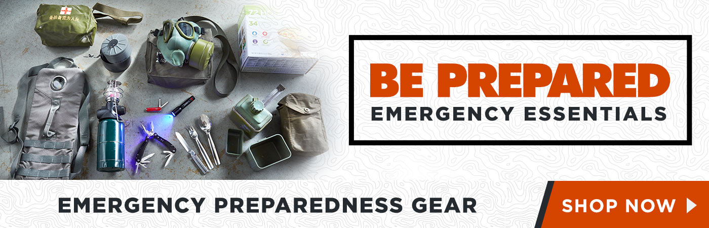 Be Prepared, Emergency Readiness Gear - Shop Now