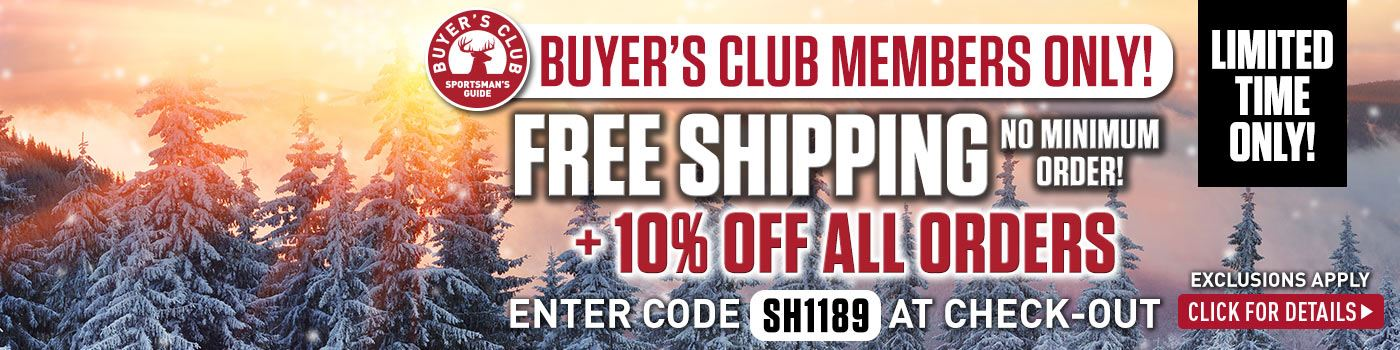 Club Free Shipping No Min Plus 10% Off! Exclusions Apply