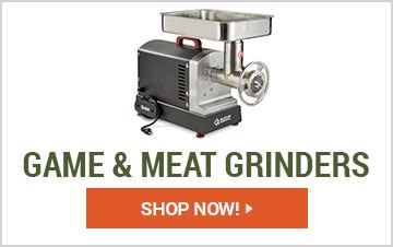 Shop Game & Meat Grinders