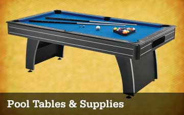 Pool Tables & Supplies
