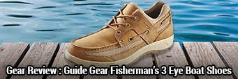 Gear Review: Guide Gear Men¿s Fisherman¿s 3 Eye Boat Shoes