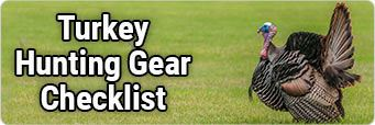 Turkey Hunting Gear Checklist