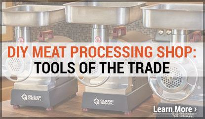 DIY Meat Processing