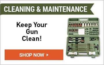 Shop Gun Cleaning & Maintenance
