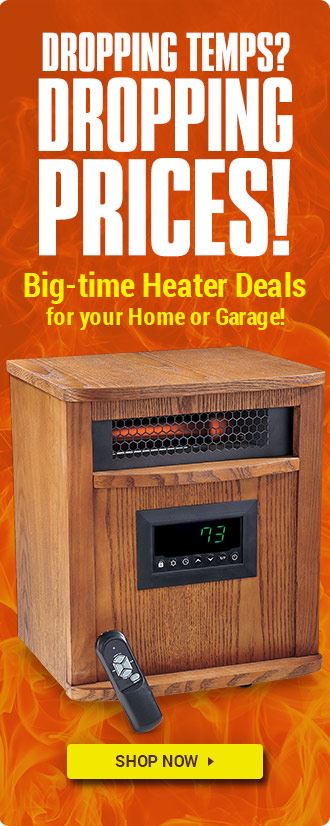 HOT HEATER DEALS!