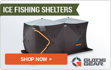 Ice Fishing Shelters & Sleds