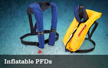 Inflatable PFDs