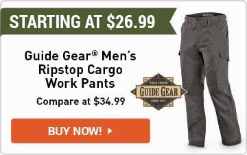Guide Gear Ripstop Cargo Work Pants