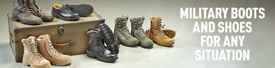 Military Boots & Shoes