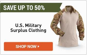 U.S. Military Surplus Clothing