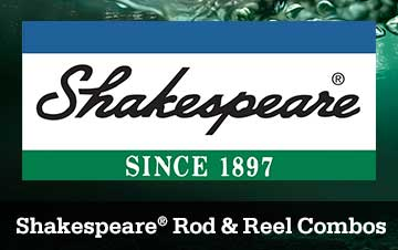 Shakespeare Rod & Reel Combos