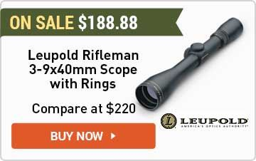 Leupold Rifleman 3-9x40mm Scope