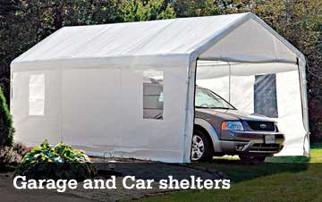 Garage and Car Shelters