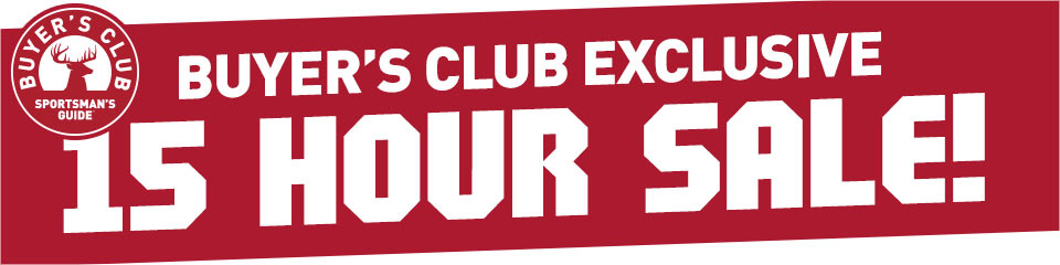 15-Hour Club Exclusive Sale!