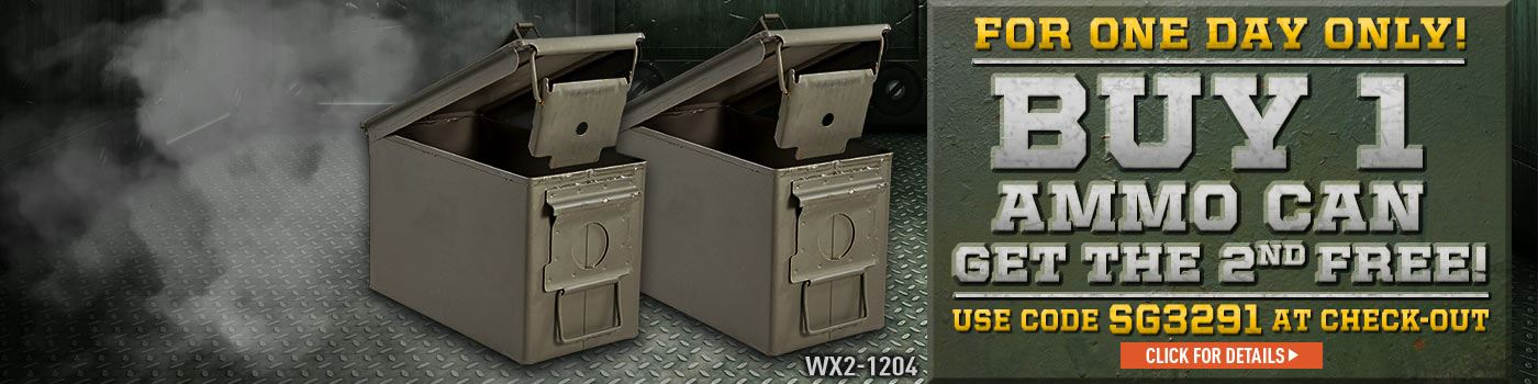 Buy 1 Ammo Can Get The 2nd Free Coupon Conde SG3291