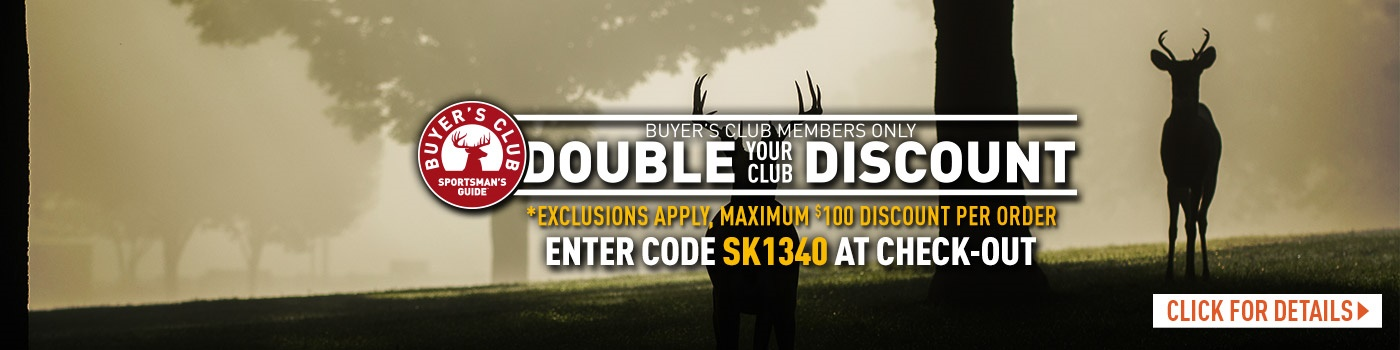 Club Double Discount Exclusions Apply