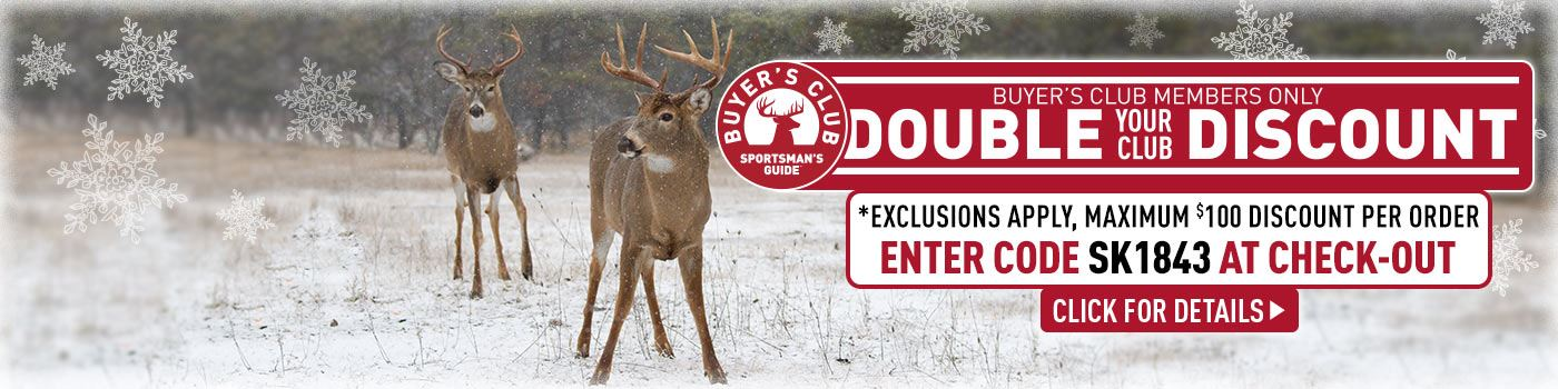 Club Double Discount! Exclusions Apply