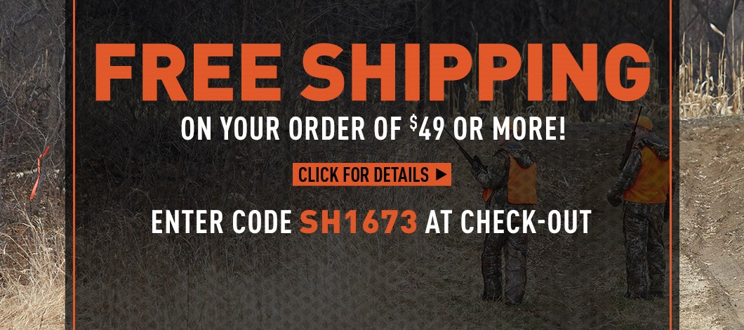 Free Shipping on $49 Minimum