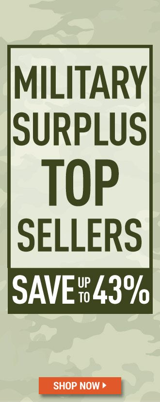 Military Surplus Top Sellers