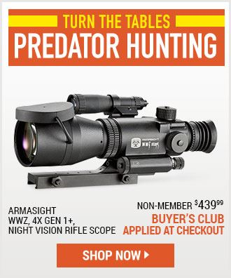 Predator Hunting Event!