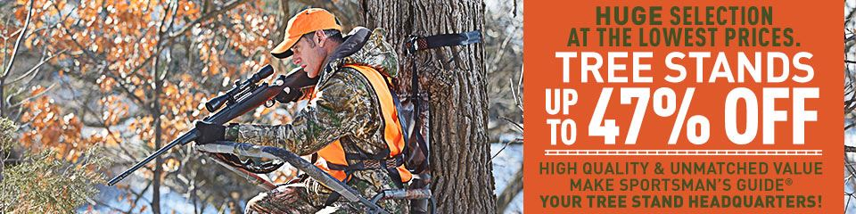 Huge selection at the lowest prices. Tree Stands up to 47% Off! High quality & unmatched value make Sportsman's Guide your tree stand headquarters!