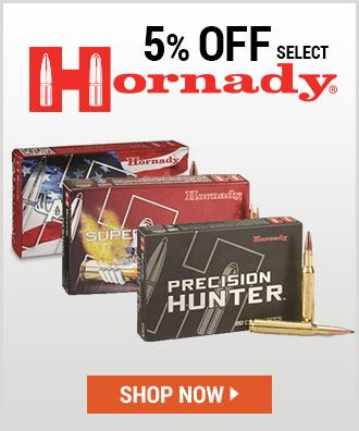 5% off Select Hornady Ammo