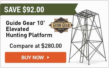 Guide Gear 10' Elevated Hunting Platform